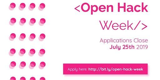 Open Hack Week Grand Finale