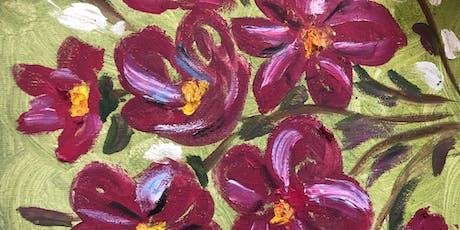 """Pour & Paint """"Flowers"""" tickets"""