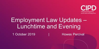 Employment Law Update - Lunchtime session