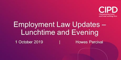 Employment Law Update - Lunchtime session tickets