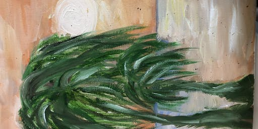 """Pour & Paint """"Palms"""""""
