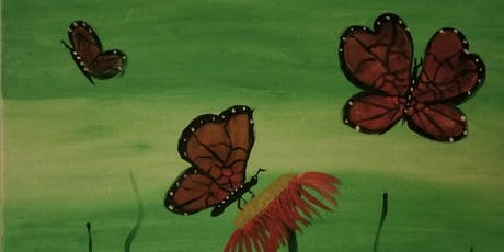 "Pour & Paint ""Butterflies"" tickets"