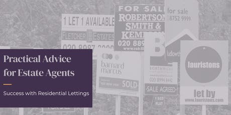 Practical Advice for Estate Agents: Success in Residential Lettings tickets