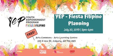 YEP- Fiesta Filipino 2019 Planning  tickets