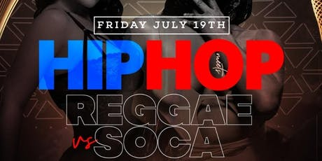 HIPHOP VS REGGAE VS SOCA @ AMADEUS NIGHT CLUB tickets