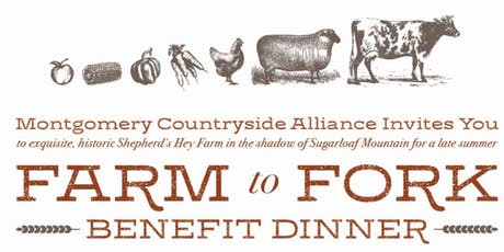 Farm to Fork Benefit Dinner tickets