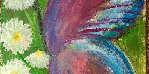 "Pour & Paint ""Butterfly"""