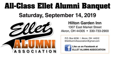 2019 Ellet Alumni Association All-Class Banquet