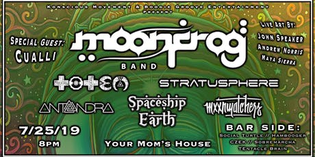 Moon Frog Band at Your Mom's House tickets