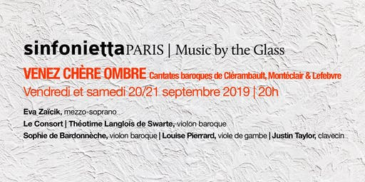 «Music by the Glass» ouverture de la saison! Samedi, 21 septembre 2019 | 20H