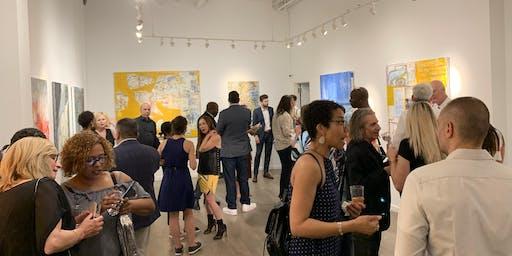 NYAFAIR VIP preview reception, August 1, Tribeca's contemporary art fair.