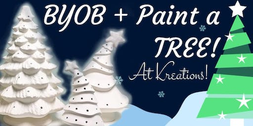 BYOB+Paint a Tree!