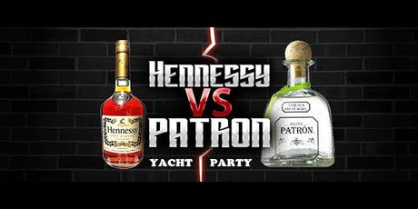 HENNY VS PATRON YACHT PARTY @ AVALON YACHT tickets