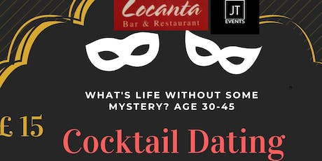 Cocktail Dating Event - (Complimentary Glass of Mojito & Canapes) tickets