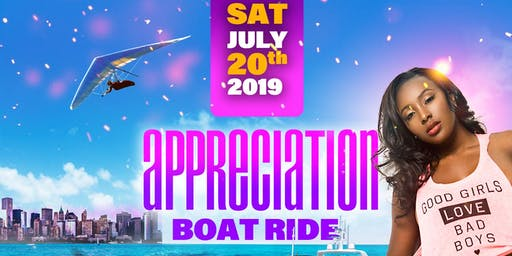 APPRECIATION BOAT RIDE