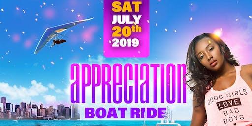 APPRECIATION BOAT RIDE