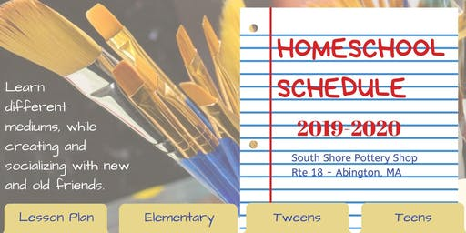 ART Home School Schedule 2019-2020