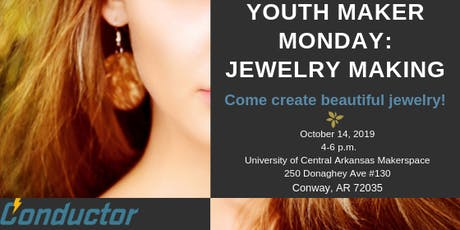 Youth Maker Monday: Jewelry Making tickets