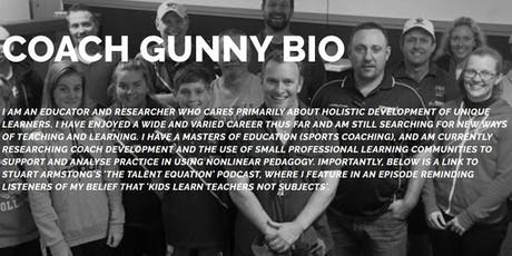Coach education event with Gunny tickets