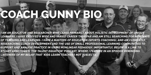 Coach education event with Gunny