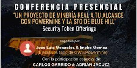 MADRID Conferencia Blockchain y los Security Tokens Offering Activos Financieros entradas