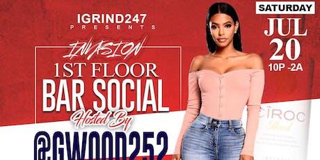 Invasion1st Floor Bar Social @Solas  tickets