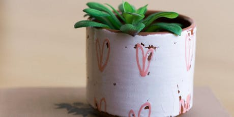 Ceramic Planters with Catie Miller tickets