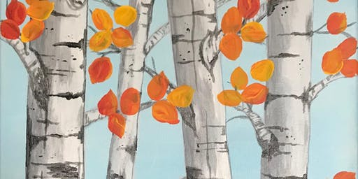 Colors of Fall - Acrylic Painting Class