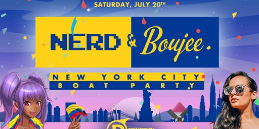 Nerd and Boujee: Summer Yacht Cruise - NYC Boat Party (Pier 40)