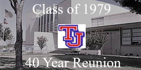 Thomas Jefferson Dallas  Class of 1979 - 40th Reunion tickets