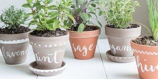 Indoor Fall Herb Garden Workshop