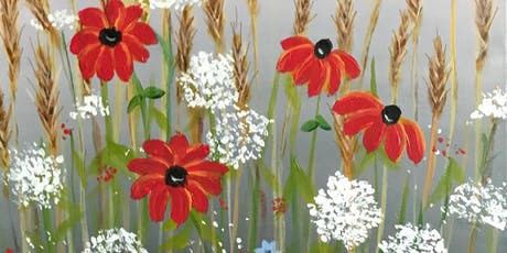 Field of Flowers - Acrylic Painting Class tickets