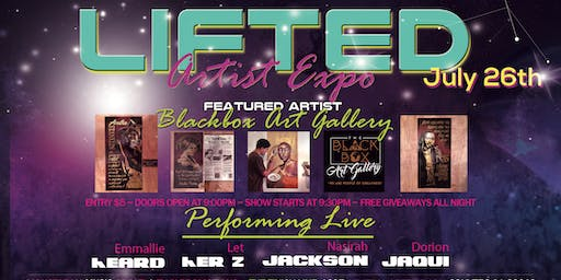 Lifted: Artist Expo July