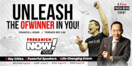 FRANCIS J. KONG - UNLEASH THE OFWINNER IN YOU tickets