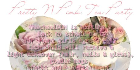 Pretty N pink Tea Party tickets