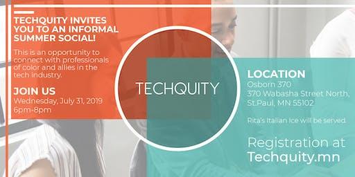 Techquity: Summer Social