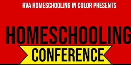 RVA Homeschooling in Color Conference tickets