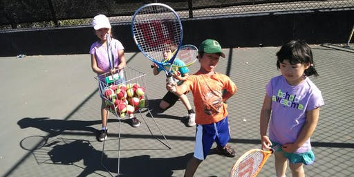 Paid Kids Tennis Classes in Fremont (Ages 2.5 - 4)