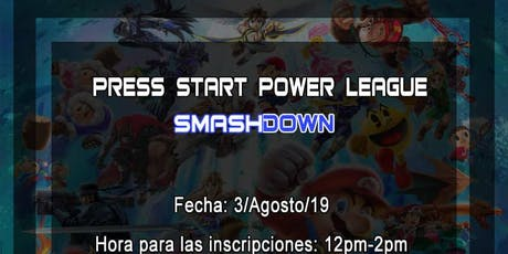 Press Start Power League - SmashDown tickets