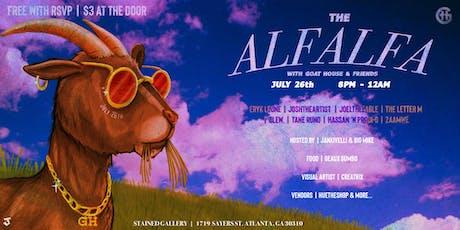 The Alfalfa tickets