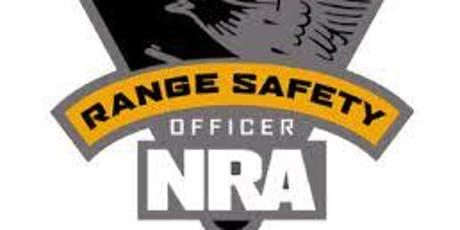NRA Range Safety Office Course tickets