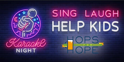 Karaoke Party supporting Hops for Hope