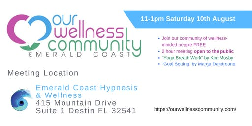 Emerald Coast Wellness Community Meeting
