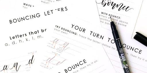 Beginners Brush Lettering Workshop Part 2 - Long Beach
