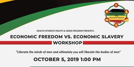 Economic Freedom vs. Economic Slavery Workshop   tickets