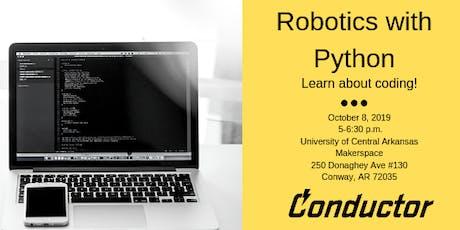 Robotics with Python  tickets