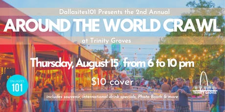 Around The World Crawl at Trinity Groves tickets