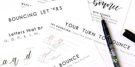 Beginners Brush Lettering Workshop Part 2 tickets