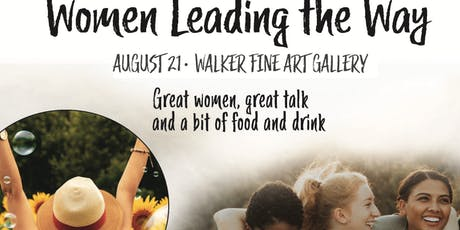 """Women Leading the Way"" tickets"