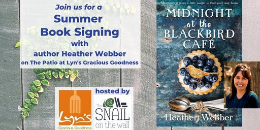 Summer Book Signing with author Heather Webber